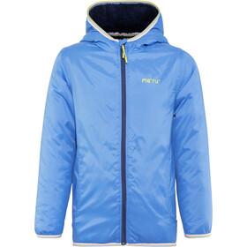 Meru Stayton Teddy Fleece Jacket Kids blue